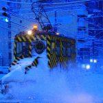 2017年ササラ電車出動準備完了!札幌はいつ雪が降っても大丈夫!