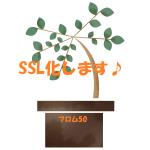 フロム50はSSL化してURLがhttpsで始まる安全ブログへ!