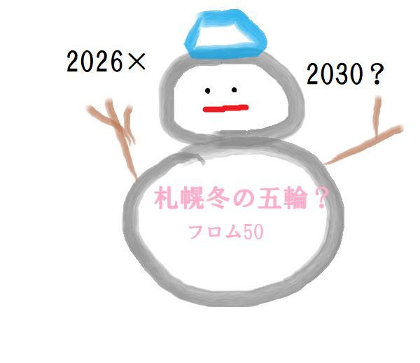 札幌冬の五輪?,フロム50