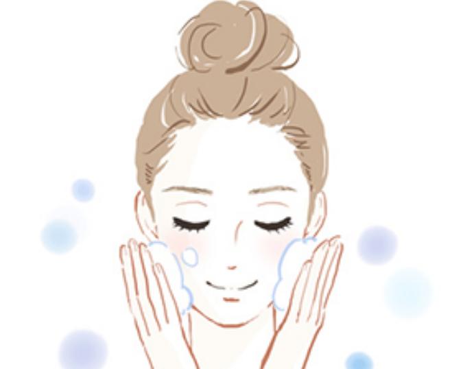 顔を洗っている,フロム50