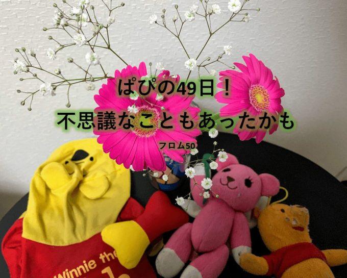 ぱぴの49日の花,フロム50